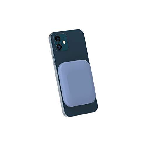 Mini Power Bank Quick Carica Caricabatterie Portatile PD 18W Consegna di Alimentazione USB C Pacco Batteria Esterna Compatibile per Il Caricabatterie Magnetic Wireless Power Bank (Color : Blue)