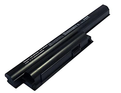 X-Comp Batteria di ricambio compatibile VGP-BPS26A 5200mAh per Sony Vaio SVE14 SVE15 SVE17 VPC-CA VPC-CB VPC-EG VPC-EH VPC-EJ VPC-EK VPC-EL Serie