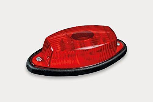 Umrissleuchte Begrenzungsleuchte Markierungsleuchte rot ohne Halter mit Kabel 2x0,75 mm² Anhänger LKW Wohnwagen Nutzfahrzeuge Trailer