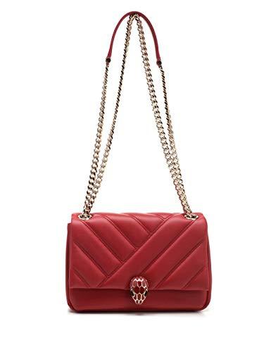 Bulgari Luxury Fashion Damen 288718 Rot Schultertasche   Frühling Sommer 20