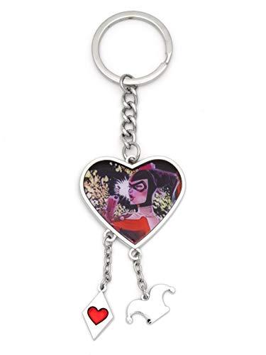 31rRH9nENpL Harley Quinn Keychains