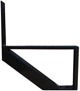 MTB Black Steel Stair Riser with 1//2//3//4//5//6//7 Steps