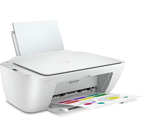 HP DeskJet 2720 + Tarjeta regalo €5 Amazon - Impresora multifunción, Wi-Fi, Bluetooth, copia, escanea, compatible con Instant Ink