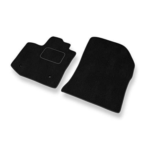 Mossa Premium Tapis de Sol - Set de 2 Tapis de Pieds - Noir - Velours Tapis Automobiles - 5902538835299
