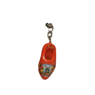 Holland souvenir sleutelhanger - Hollandse clog - houten schoen