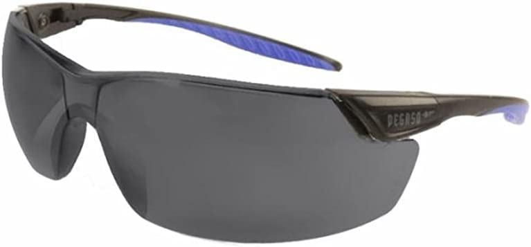 PEGASO Safety VOLTA 127.02 - Gafas de protección contra impactos (10 unidades), color azul