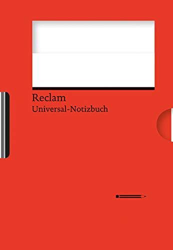 Reclams Universal-Notizbuch (rot)