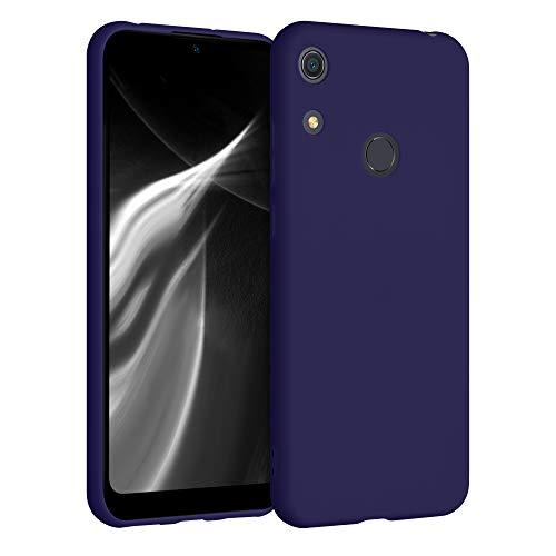 kwmobile Carcasa Compatible con Huawei Y6s (2019) - Funda móvil de Silicona - Protector de TPU en Azul Profundo