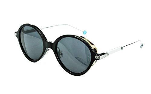 Christian Dior - DIOR UMBRAGE, Rund, Acetat, Herrenbrillen, BLACK/SMOKE(L9R/IR), 52/20/135