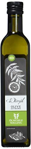 Ölmühle Solling Bio Olivenöl mit Zitrone, 1er Pack (1 x 500 ml)