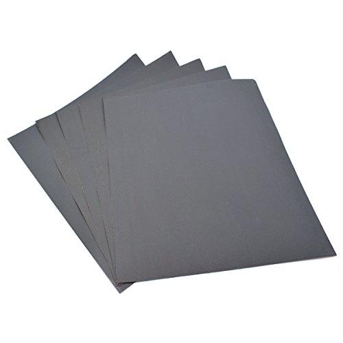 230x280mm Schleifpapier 5Stück Blatt–Körnung 2000Wasserfestes Papier nass/trocken Siliziumkarbid