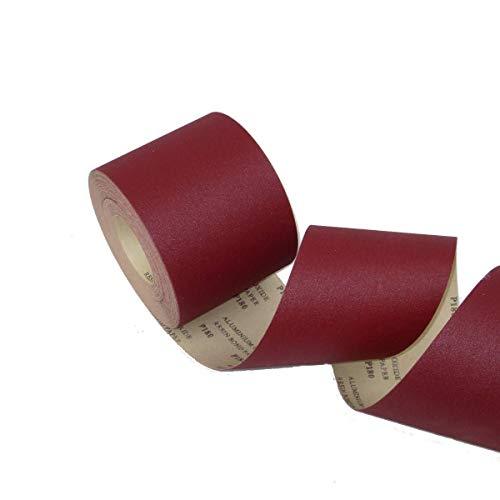 Schleifpapier Eckra 1 Rolle e-Papier starkes Papier 115 mm x 50 m P 120