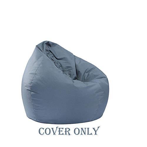 Zervatek Waterproof Bean Bag Cover Chair Storage Bean Bag Oxford Chair Cover,Teens Lounger Sack