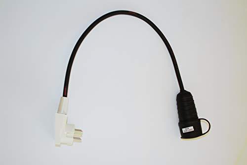 Kraftstromadapter Perilex Adapter auf 1 x 230 Volt Schuko Adapterstecker Verteilerstecker Schukoadapter Baustromadapter