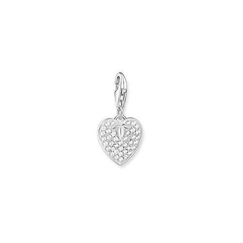 Thomas Sabo GmbH Women Charm Pendant Heart 925 Sterling Silver 1864-051-14