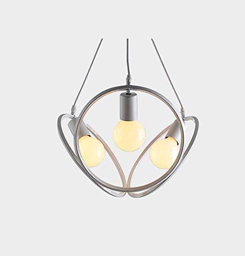 miwaimao Lámpara de araña de cuerda de cáñamo retro con colgante de cuerda, estado de ánimo vintage, cuerda de cáñamo y luces colgantes de bambú, color blanco