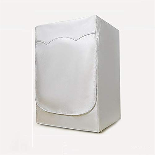 yuanyuanliu Polvo Lavadora De Tambor Cubierta Impermeable Cortina De Protección Solar (Color : B, Size : M)