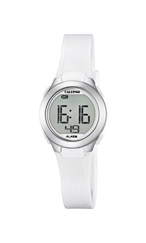 Calypso Unisex Digital Quarz Uhr mit Silikon Armband K5677/1
