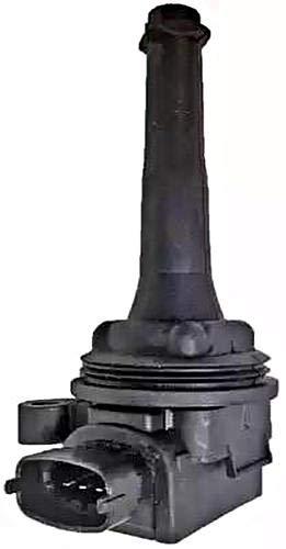 HELLA 5DA 358 000-071 Zündspule - 12V - 4-polig - Kerzenschachtzündspule - geschraubt