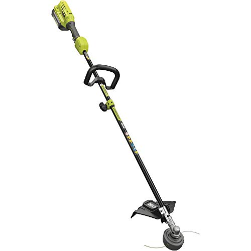 RYOBI 40-Volt Lithium-Ion Cordless Attachment Capable String Trimmer, 4.0 Ah Battery and Charger Inc