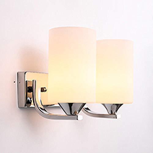 Moderne led-wandlamp, wandlamp, Scandinavisch, glazen bol, hal, slaapkamer, bedlampje, wandlamp, 6001-2