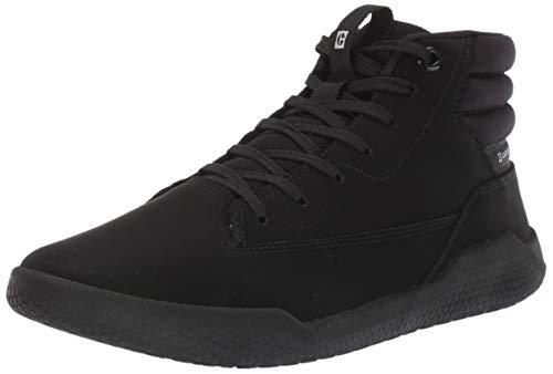 Caterpillar Code Hex Hi Sneaker, Black, 6 Women/6 Men