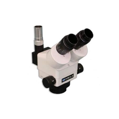 Meiji Techno Trinocular Shared Image, Zoom Stereo Microscope .7X to 4.5X with Stops Need EMZ-8TRD
