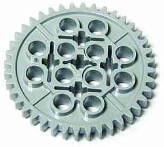 LEGOブロック・純正パーツ<テクニック・ギア>40歯(径41mm) (1個, Light Bluish Gray) [並行輸入品]