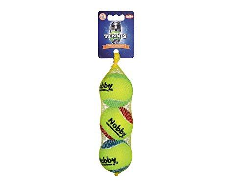 Nobby Tennisball sortiert M 6,5 cm; 3er Netz