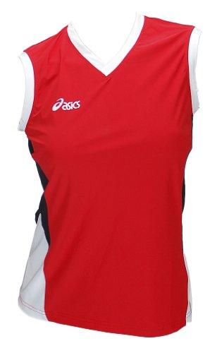Asics Shirt Sportshirt Trikot Offence Slee Top Damen 0600 Art. 648205 rot Größe M