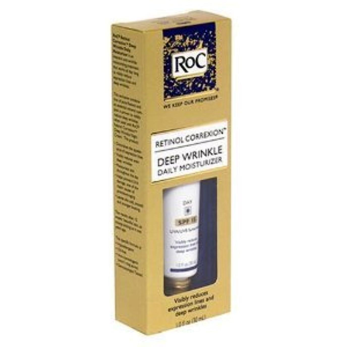 感謝バルク横たわるRoC レチノール コレクシオン ディープリンクルモイスチャライザー 昼用 30ml 海外直送品