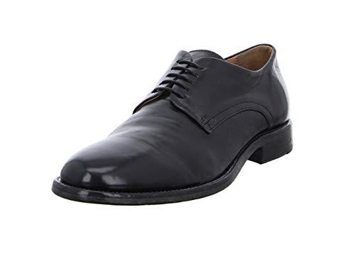 MOMA Herren Klassische Schuhe 2AS019-FL Florence Leder Schwarz