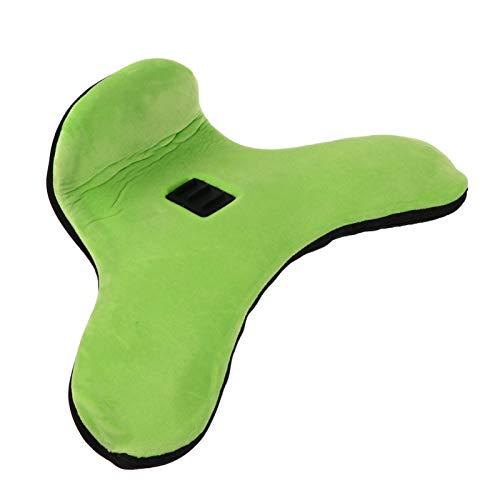 UKCOCO Suporte de Travesseiro para Tablet Com Controle de Ângulo Ajustável para Tablets Ereaders Smartphones Revistas de Livros Colo Grama Verde