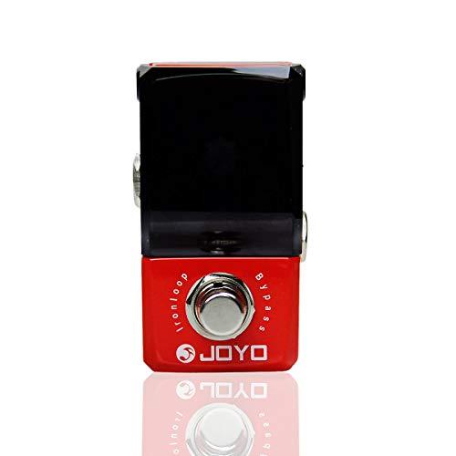 JOYO JF-329 Ironloop Looper - Pedal de efectos de guitarra, diseño de Ironman, color rojo