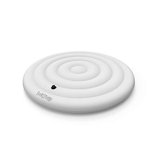 WAVE Abdeckung für Whirlpool-Wärmerücker und Regenablauf-Blase, passend für 4 Personen, rund, 126 cm, 135 cm, 165 cm, Weiß