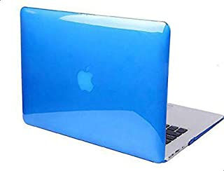 GMYLE Blue Hard Case Crystal for MacBook Pro 13 with keyboard cover