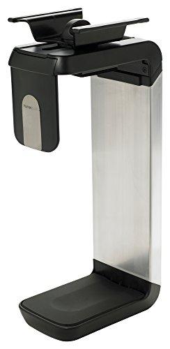 Humanscale CPU600 Adjustable Under-desk CPU Holder Black/Silver