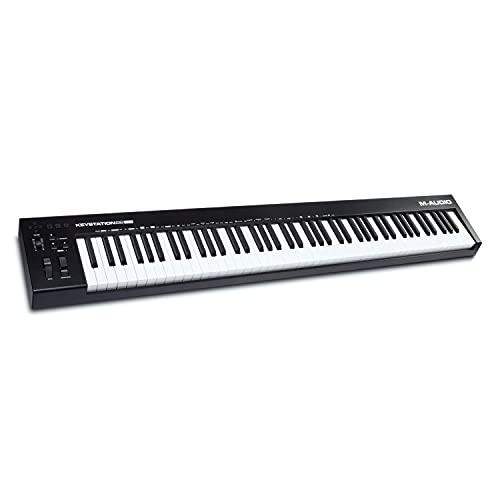 M-Audio Keystation 88 MK3 - Teclado controlador MIDI USB con 88 teclas...