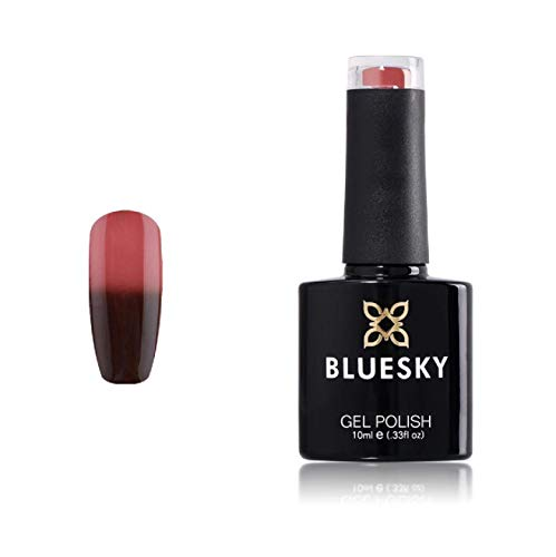Bluesky shinerlac Chameleon Thermo-kleurverandering UV Soak Off nagellak gel, Demon 10 ml