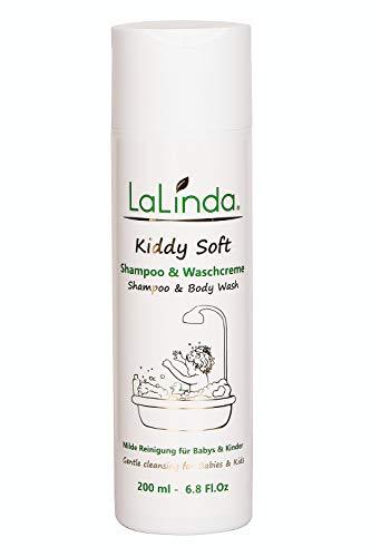 LaLinda - Naturkosmetik Shampoo und Waschcreme für sehr empfindliche Haut auch bei Gereizter und Juckender Kopfhaut geeignet Für Babys, Kinder und Erwachsene 200ml
