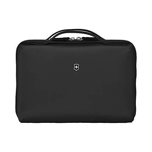 Victorinox Women's Victoria 2.0 Toiletry and Cosmetic Compact Beauty Case, Black, 4 L