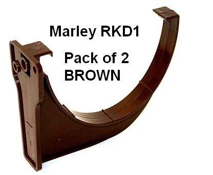 o 'So Eezy PK di 2x RKD1marrone Marley Deepflow 110mm supporto per grondaia