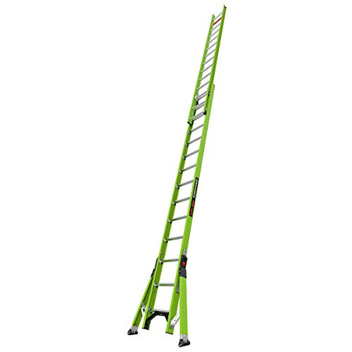 Little Giant Ladder Systems, SumoStance, 28', Extension Ladder, Fiberglass, Type 1A, 300 lbs rated (18828)