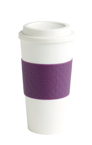 Copco, Plum Acadia Travel Mug, 16-Ounce