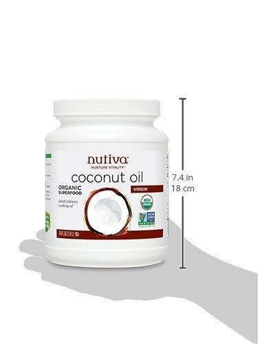 Nutiva Organic, Unrefined, Virgin Coconut Oil, 54-ounce