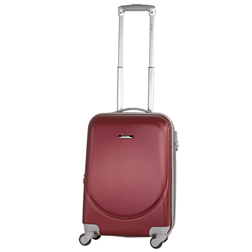 CALPAK Silverlake Wine 20-inch Carry-on Lightweight Expandable Hardsided Upright Suitcase