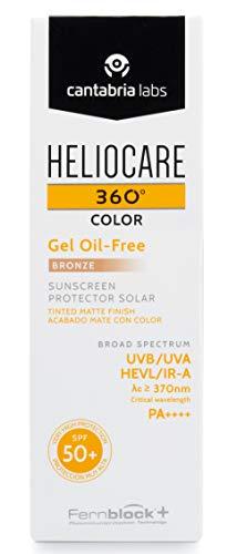 Heliocare 360 Farbgel Ölfrei Spf50 Bronze 50ml