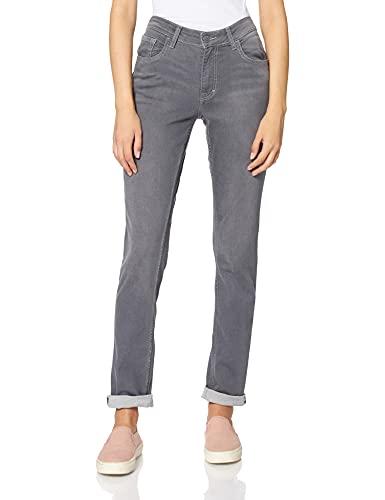 MUSTANG Damen Rebecca comfort high slim Jeans, dunkelgrau, 31W / 30L