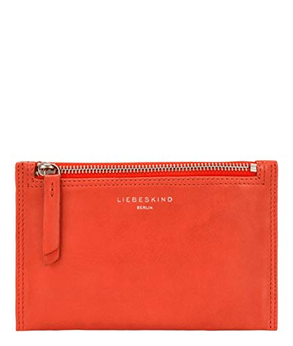 Liebeskind Berlin Damen Ever-Cosmetic Bag Small Taschenorganizer, Rot (Poppy red), 1x12x19 cm