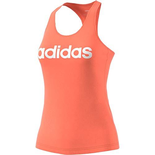 adidas W E Lin Slim Tk - Camiseta De Tirantes Mujer